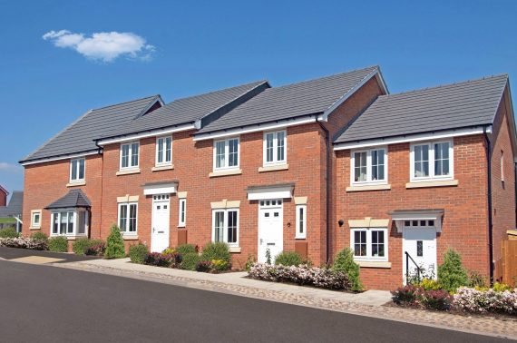 Uk house builder new houses